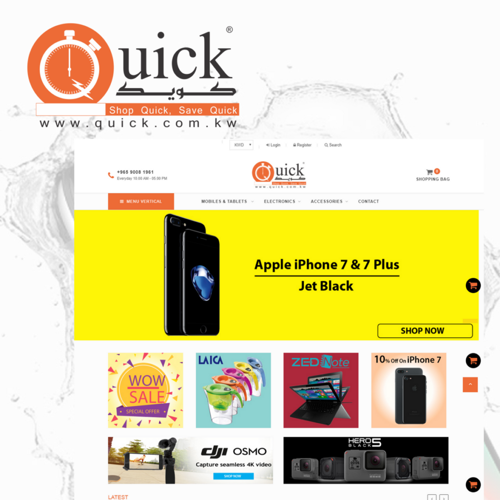 Quick- Shopping Site